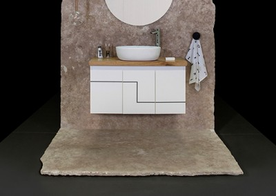 ארונות אמבטיה בהתאמה אישית |Koral| א.א קרמיקה