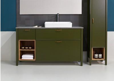 ארונות אמבטיה בהתאמה אישית |Water lily| א.א קרמיקה
