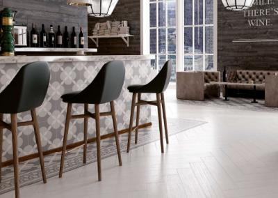 א.א קרמיקה|Atelier Geo Grey 33,15X33,15|Cenafe Atelier Grey 33,15X33,15|Angulo Atelier Grey 33,15X33,15|Lumber White 15X90|Lumber Black 15X90