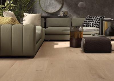 א.א קרמיקה | Crossroad Wood Amber 26x200 | Sensi Wide Pietra Grey lux+