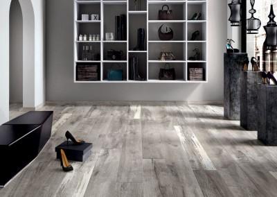 א.א קרמיקה | Grey 20x120, 20x170 | Listone Grey White 20x120