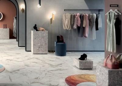 א.א קרמיקה | White 60x120 | Futura Tortora 120x120