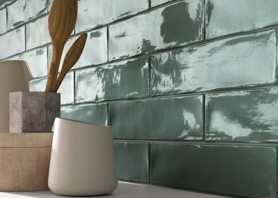 א.א קרמיקה | Crossroad Brick Sage