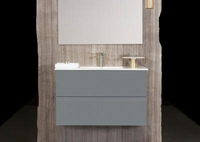 ארונות אמבטיה בהתאמה אישית |Santorini| א.א קרמיקה