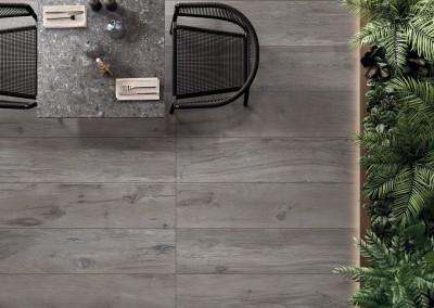א.א קרמיקה | Grey 30x120 20 mm