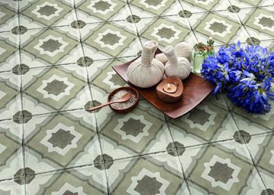 א.א קרמיקה | Heritage Deco Warm 20x20 - R10